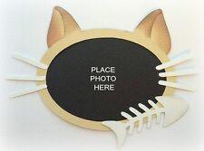 CAT PHOTO MAT JUST ADD PIC PAPER PIECING PREMADE 3D DIE CUT MY TEAR BEARS KIRA