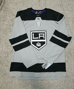 Adidas NHL Los Angeles King Alternate Authentic Hockey Jersey Size 52 Men DP9108