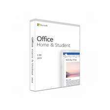 NEU Microsoft Office 2019 Home & Student Vollversion Retail Produktkey