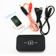 2 in1 Bluetooth Wireless Audio Transmitter Receiver 3.5mm RCA Music Adapter HiFi