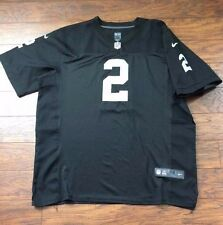 Nike NFL On Field Terrelle Pryor #2 Oakland Raiders Black Football Jersey 56