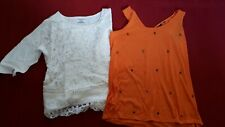 WOMEN'S NEXT BEADED TOPS SIZE 14