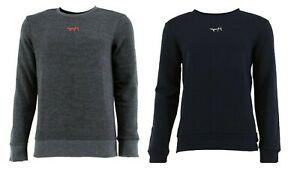 Hugo Boss Herren Langarm Sweatshirt Pullover Label-Stitching in der Mitte S-XXL