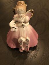 Vintage Josef Originals Age 11 Birthday Girl Angel Pink Dress Sewing