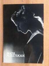 Maya Plisétskaya Ballet Program
