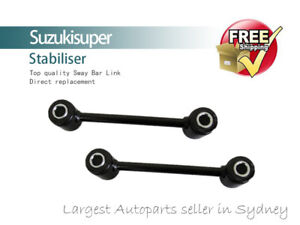 2 Rear Sway Bar Link Kit Jeep Wrangler TJ Stabiliser Pair 1997-2006