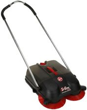 Hoover Commercial Twin Spin Sweeper Outdoor Hard Surface Cordless Motorless
