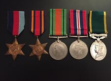 More details for ww2 territorial efficiency medal group - r.a. kohima, india, burma service
