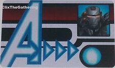 NFID-010 WAR MACHINE ID CARD Nick Fury Agent of S.H.I.E.L.D Marvel Heroclix