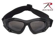 Rothco 11377 ANSI Rated Tactical Goggles - Black