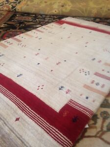 Modern Spectacular Hand Made Area Rug Gabbeh  8' X 10' New Nomadic Fine A+