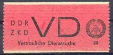 DDR DIENST 1965 VD1 ** ATTEST EINWANDFREI BPP 320€(E7013b