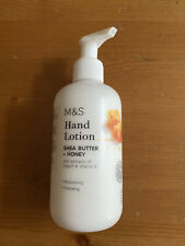 M & S Hand Lotion Shea Butter + Honey With Extracts Of Yogurt & Vitamin E 250ml