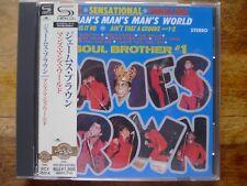 "JAMES BROWN ""It 's a man's man's man's World"" Classic Soul Japon SHM & obi CD"