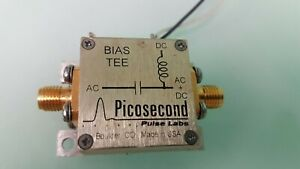 Bias Tee, Picosecond 5545 65 kHz to 20 GHz