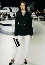 ICONIC Chanel Navy Trench Coat Size 42