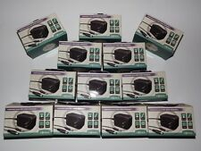 12 Lot Premium Heavy Duty Nintendo Nes Snes Genesis Ac Power Adapter 10V 1000mA