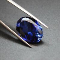 Beautiful Unheated 8.08cts 10x12mm Blue Tanzanite Oval Shape AAAAA Loos Gemstone
