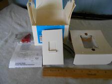 New In Box Lutron Nova N 1000 WH White Incandescent Dimmer 120V 1000W Halogen