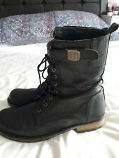 La Redoute black leather ankle boots size 7.5 / 41