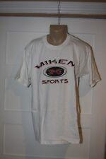 Miken Softball T-Shirt Softball Large New Retro Rare white