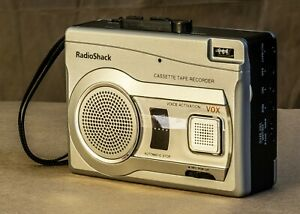 Radio Shack Cassette Recorder with Variable-Speed Playback, good working order