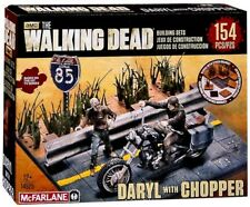 McFarlane Toys The Walking Dead Daryl with Chopper Building Set #14525