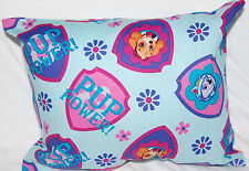 NEW HANDMADE MINI  PAW PATROL PUP POWER TODDLER/ TRAVEL/ CAR PILLOW