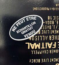 Vinyle PROMO JOHNNY HALLYDAY Rare 45T 3T LA GUITARE FAIT MAL Bercy Tour 92