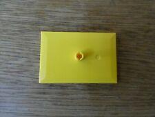 Lego Train Bogie Plate 6 x 4 Yellow 9v  12v  RC Trains PN 4025   *NEW*