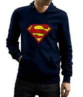 DC Comics Superman Hoodie Sweatshirt Size Large New with Tags Super Man