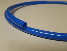 1 mtr 6mm i.d Flexible Radiator Overflow Pipe/Tube Blue PVC with Clips