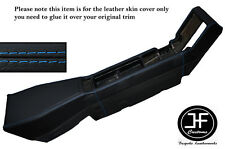BLUE STITCHING CENTER CONSOLE LEATHER SKIN COVER FITS RENAULT ALPINE GTA V6