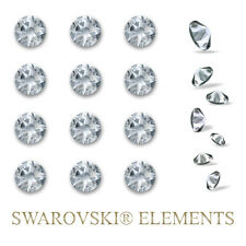 24 Swarovski Elements Kristalle Steine selbstklebend Wandtattoo Strass 4,0mm