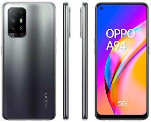 Oppo A94 5G Fluid Black , Dual Sim, 128GB 8GB, Official Warranty