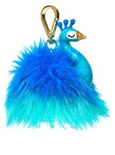 Bath & Body Works Peacock Plush Pocket - Bac Keychain New - JUST HOLDER