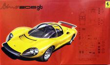 1967 Ferrari Dino 206 GT 1:24 Model Kit Bausatz Fujimi 123639