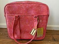 RARE Vintage Samsonite Silhouette Tote Travel Bag Pink Orange NEW w/Tag Carry-On