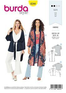 Burda Schnittmuster - Kimono - Mantel - Jacke - Nr.6244