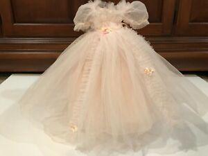 """Gorgeous Pink Vintage Madame Alexander Dress fits Elise & other similar 16""""dolls"""