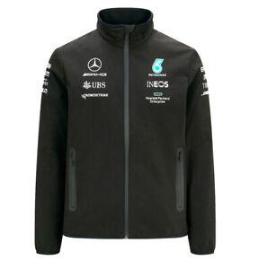 F1 Mercedes-AMG Petronas 2021 Team Mens Softshell Jacket