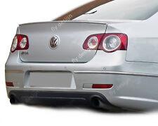 VW Passat b6 Autospoiler 2004 2010 Aluminum Silver Rear Lip Becquet Eyelid