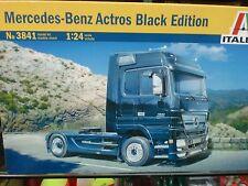 ITALERI 1/24 - KIT CAMION MERCEDES BENZ ACTROS BLACK EDITION - ART. 3841