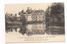 azay-le-rideau  le chateau ,façade orientale
