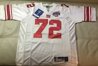 NWT Authentic Sewn Reebok Osi Umenyora New York Giants Super Bowl Jersey Size 50
