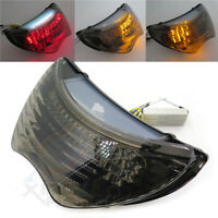 CBR600F4i Krator Smoke LED Tail Light Integrated with Turn Signals For 2004-2006 Honda CBR 600 F4i