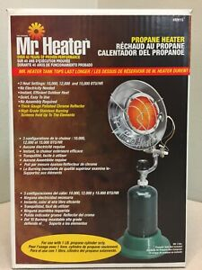 Mr. Heater F24220 10000 BTU/hr 300 sq ft Infrared Liquid Propane Portable Heater