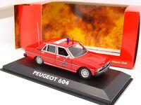 Norev 1/43 - Peugeot 604 Pompiers SDIS Var