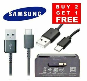 Fast Charger For Samsung Galaxy S9 S10+ Plus Type C USB-C Data Charging Cable