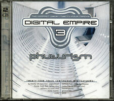 Digital Empire 3: Phuturism by Various Artists (CD, 2 Discs, 2000, Cold Front)